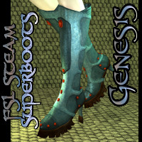 FSL Steam Super Boots Genesis Footwear fuseling