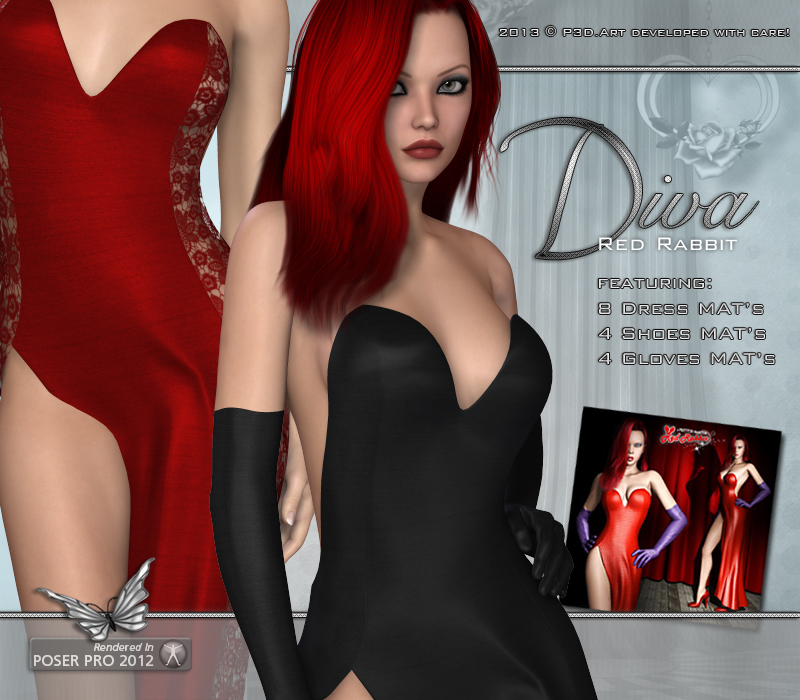 Diva - Red Rabbit outfit