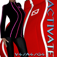 Activate Outfit V4-A4-G4 Clothing nikisatez