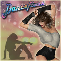Danceflash Poses Themed Software Poses/Expressions RPublishing