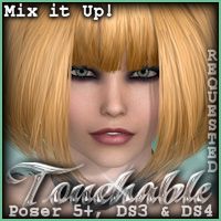 Touchable Hr-100 Themed Hair -Wolfie-