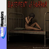 Basement of Horror 3D Models keppel