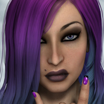 FWs Styles for Liana Hair by SWAM Themed Hair FWArt