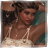 Temptation for Nightdress2 3D Figure Assets 3D Models Romantic-3D