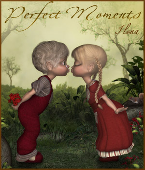 Perfect Moments 2D Graphics 3D Figure Assets 3D Models ilona