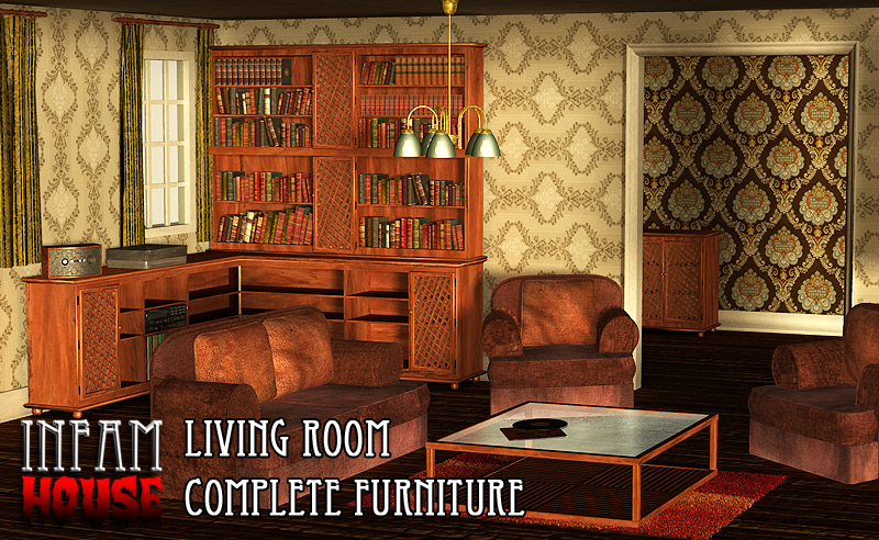 InfamHOUSE - Living Room furniture