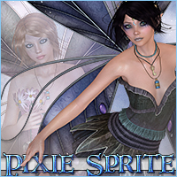 Pixie Sprite Wings Accessories Themed Sveva