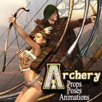 Darkworld's Archery Accessories Themed Poses/Expressions Darkworld