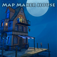 Map Maker house Props/Scenes/Architecture Software Themed 1971s
