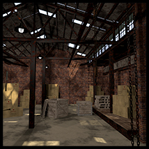 The old warehouse Props/Scenes/Architecture 2nd_World