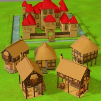 3DToons Medieval Bundle by aeilkema