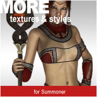 MORE Textures & Styles for Summoner Themed Clothing motif