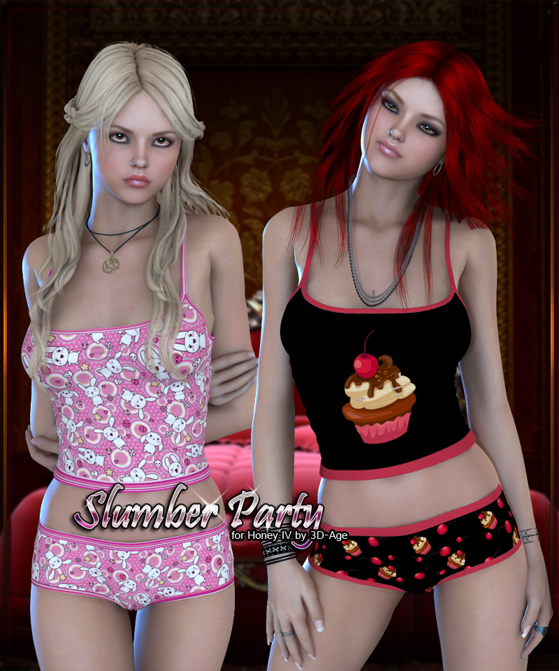 Slumber Party for Honey IV