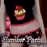 Slumber Party for Honey IV 3D Figure Assets FrozenStar