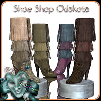 Shoe Shop Odakota 3D Figure Essentials ArtOfDreams