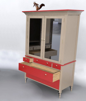 Furniture Set Two, Armoire 3D Models DreamlandModels