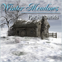 Winter Meadows 2D 3D Models -Melkor-