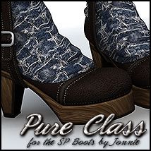 Pure Class for SP Boots Themed Footwear Sveva