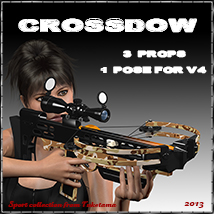 Crossbow 3D Models tuketama