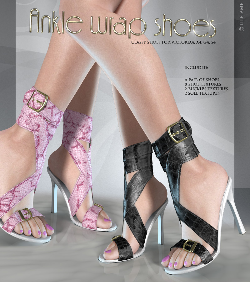 Ankle Wrap Shoes