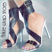 Ankle Wrap Shoes Footwear Themed lilflame