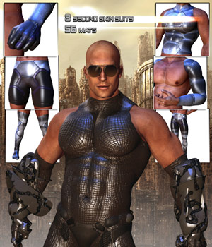 Men of Steel 3D Figure Essentials 3D Models Darkworld