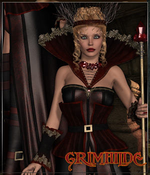 GRIMHILDE for Mirror Mirror on The Wall Themed Clothing Anagord