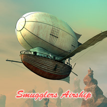 Smugglers Airship Themed Software Transportation 1971s
