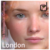 The Metropolitan Collection - London V4.2 Themed Characters danae
