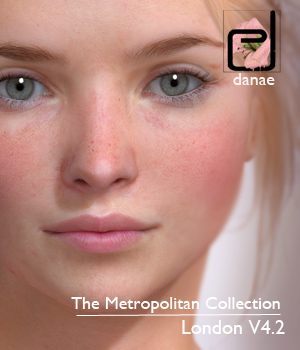 The Metropolitan Collection - London V4.2 3D Figure Essentials Extended Licenses 3D Models danae