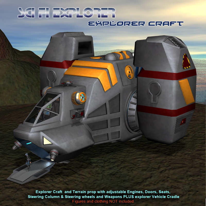 Scifi Explorer Craft