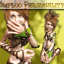 Imploo Personality Poses/Expressions Stand Alone Figures Themed Software ironman13