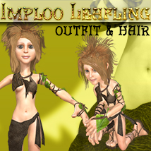 Imploo Leafling Footwear Accessories Hair Themed Software Clothing Stand Alone Figures ironman13