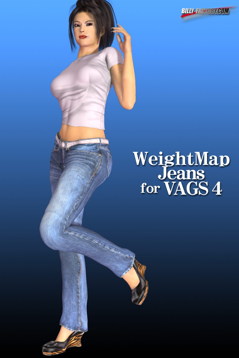 WeightMap Jeans for VAGS4