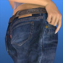 WeightMap Jeans for VAGS4 image 1