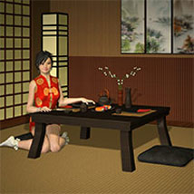 The Sushi Room 3D Models Richabri