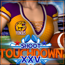SHOOT 25: Touchdown by Shana