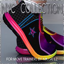 NYC Move Trainers 3D Figure Essentials 3DSublimeProductions