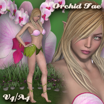 Orchid Fae V4-A4 Accessories Props/Scenes/Architecture Clothing Themed nikisatez