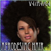 Afrodesiac Hair V4-A4-G4 3D Figure Essentials nikisatez