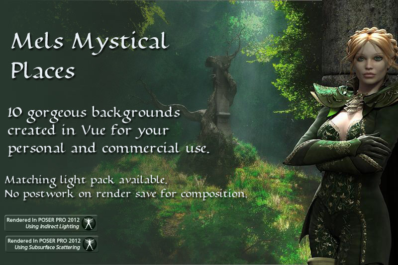 Mystical Places Backgrounds
