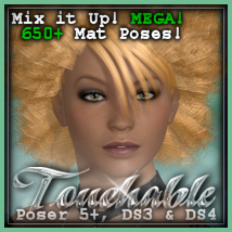 Touchable Afrodesiac Themed Hair -Wolfie-