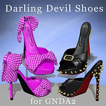 Darling Devil Shoes For Anastasia by DreamerZ_Loft