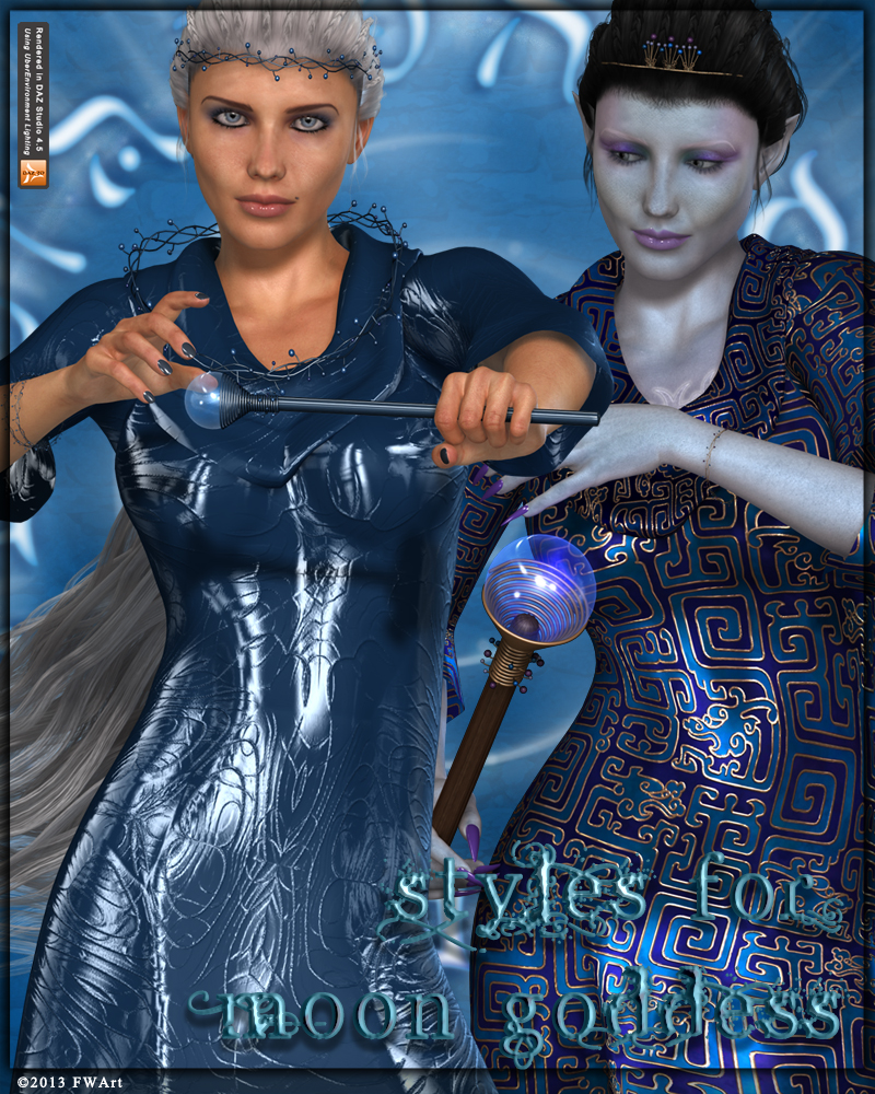 FWs Styles for Moon Goddess by -Wolfie-