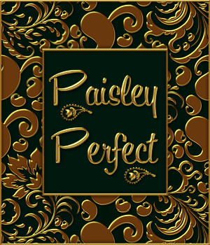Paisley Perfect Seamless Transparent Overlays 2D Graphics fractalartist01