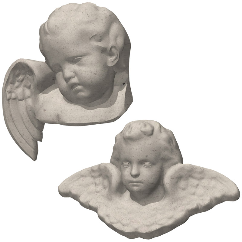 Angel Sculpture 1 and 2 (for Poser and Vue)