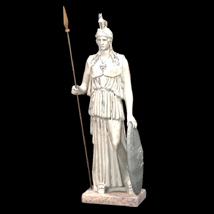 Athena and Venus Statues (for Poser and Vue) 3D Models Digimation_ModelBank