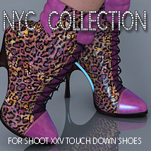 NYC TouchDown Footwear 3DSublimeProductions