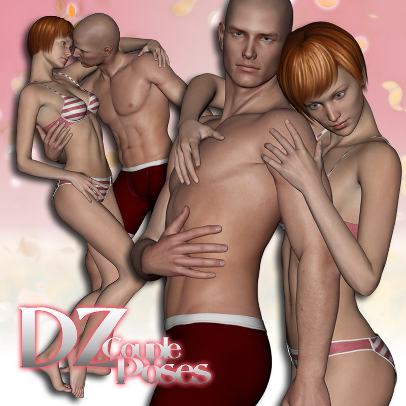 DZ MV5 Couple Poses Set 3
