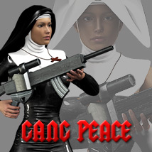 Gang Peace 3D Figure Assets 3D Models powerage